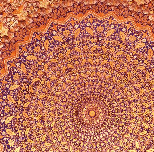 Detalle de una cúpula de Samarcanda.     Foto: Webislam.com