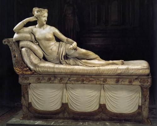 """foto: Wga.hu artista: Antonio Canova, """"Venus Victrix"""", 1805-1807"""