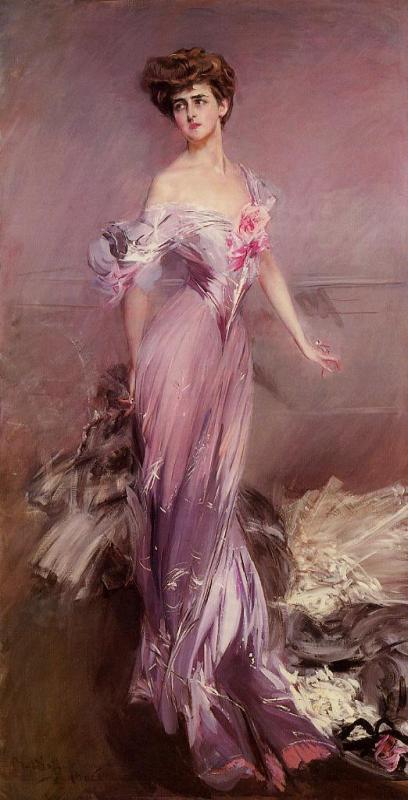 imagen: Jssgallery.org artista: Giovanni Boldini  Retrato de Mrs. Howard Johnston, 1906