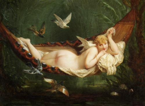 "imagen: Commons.wikimedia.org  artista: Henri Pierre Picou   ""Ronde de Mai"", 1884"