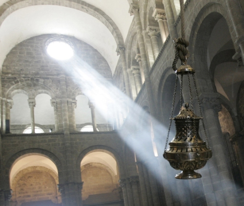 foto: Lahistoriadelasemana.blogspot.com  Catedral de Santiago de Compostela
