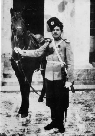 foto: encspb.ru  Sargento cosaco del Regimiento de Guardias Cosacos, 1913