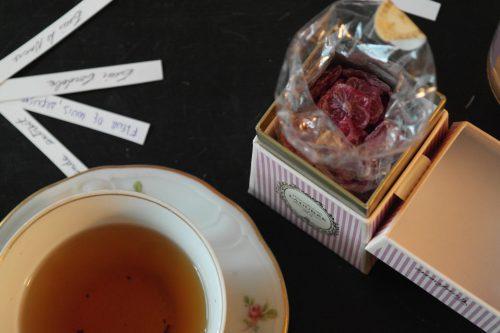 foto: Virginia Blanco Caramelos de violetas