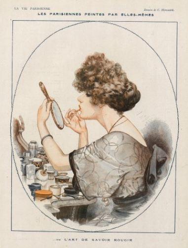 imagen: Hprints.com   ilustrador: Chéri Herouard para La Vie Parisienne, 1919