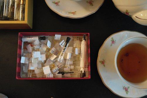 foto: Virginia Blanco Una de muchas cajas con muestras