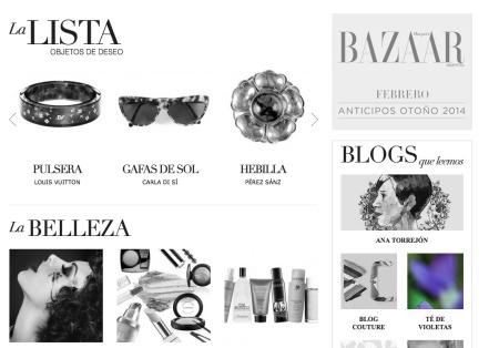 1 Te de Violetas Bazaar Argentina Magazine
