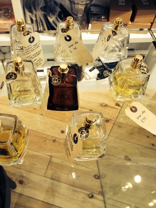 foto: Soledad Caneda  perfumes de Frapin, línea inspirada en cognacs finos
