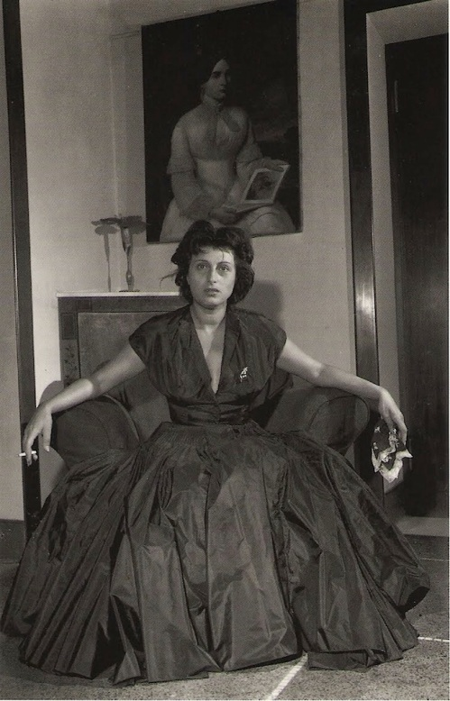 foto: Toutceciestmagnifique.com  fotógrafo: John Phillips  Anna magnani, Roma, 1947