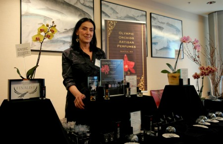 foto: Virginia Blanco  Ellen Covey, perfumista de Olympic Orchids