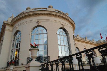 Casino Barrièrre, donde se realizó la recepción de gala el último día foto: Virginia Blanco