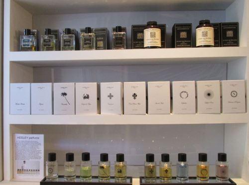 foto: Caro Fernandez   Perfumes de Jardins d'Ecrivains y Heeley