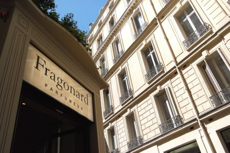 Musée du Parfum y boutique Fragonard, París foto: Virginia Blanco