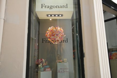 Boutique Fragonard del Musée du Parfum, París foto: Virginia Blanco