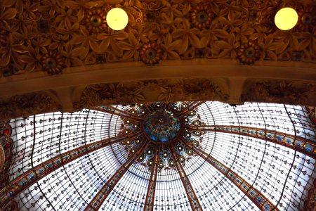 Cúpula de Galeries Lafayette, París             foto: Virginia Blanco