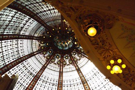 Galeries Lafayette, París             foto: Virginia Blanco