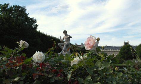 Jardín de la Galerie de Valois, París   foto: Virginia Blanco