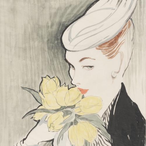 imagen: Vam.ac.uk (Victoria & Albert Museum)  artista: Sigrid Hunt, 1954
